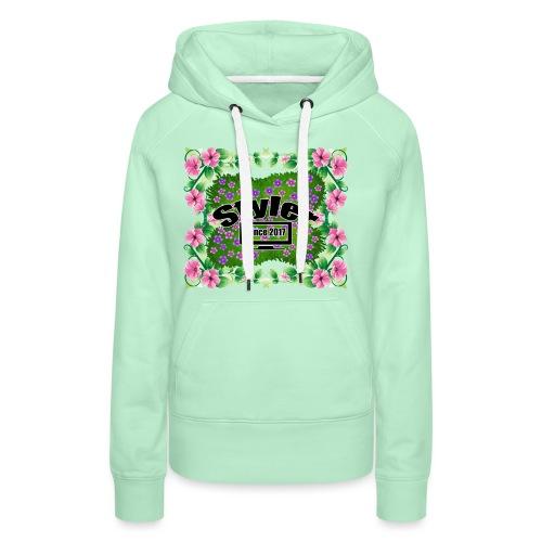 Styler Bloemen Design - Vrouwen Premium hoodie