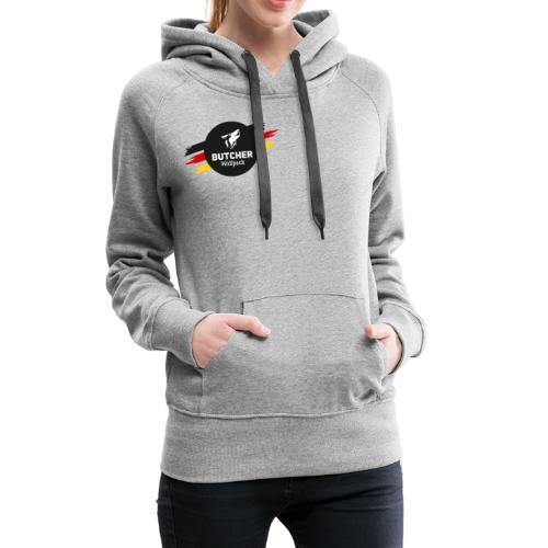 BUTCHER WOLFPACK Logo - Frauen Premium Hoodie