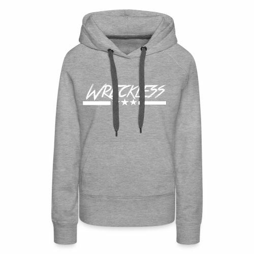 Wreckless crew - Premium hettegenser for kvinner
