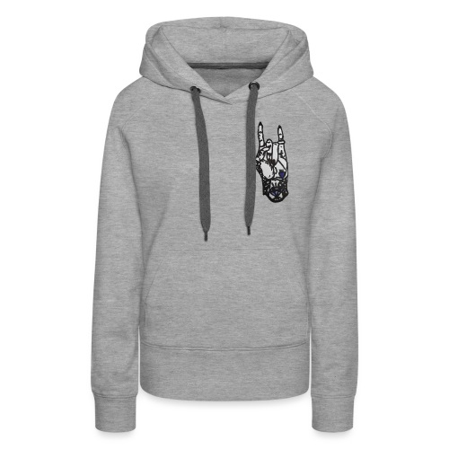 Rock Female Hand - Women's Premium Hoodie