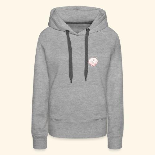 Coquillage tit - Sweat-shirt à capuche Premium pour femmes