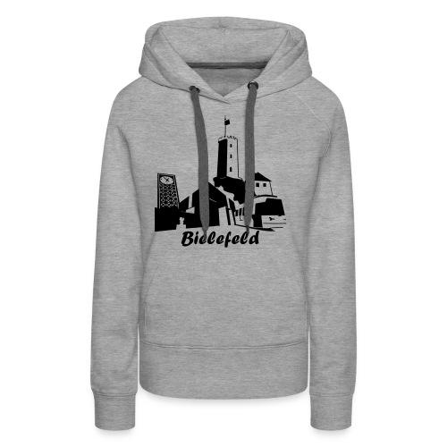 Bielefeld Skyline - Frauen Premium Hoodie