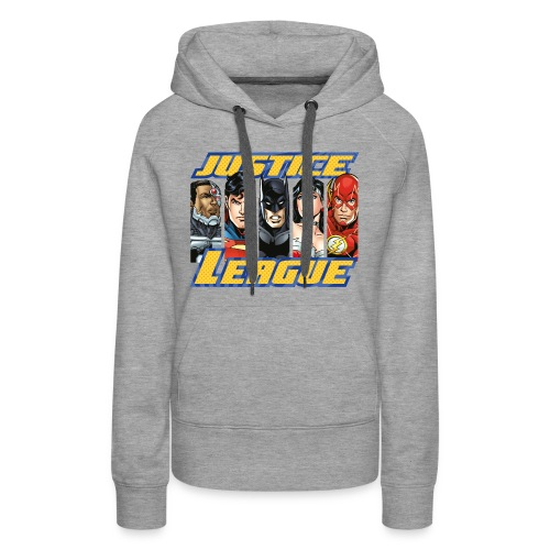 DC Comics Justice League Superhelden - Frauen Premium Hoodie