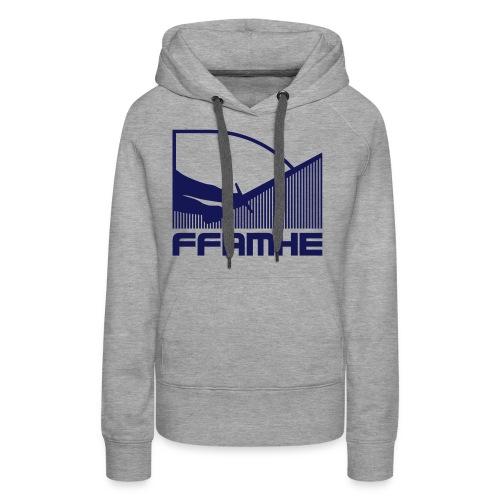 ffamhe 32c vintage - Sweat-shirt à capuche Premium pour femmes