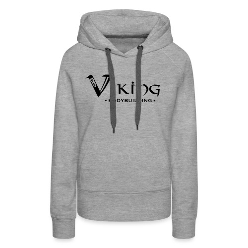 Viking Bodybuilding Font - Frauen Premium Hoodie