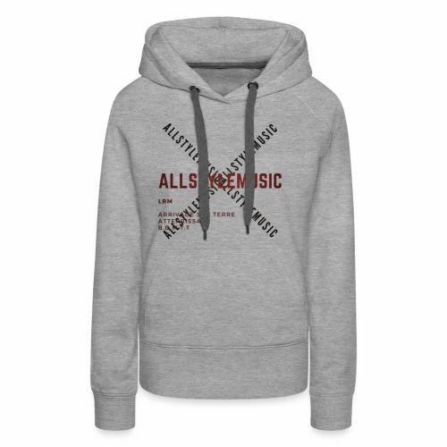 ALLSTYLEDESIGN - Sweat-shirt à capuche Premium pour femmes