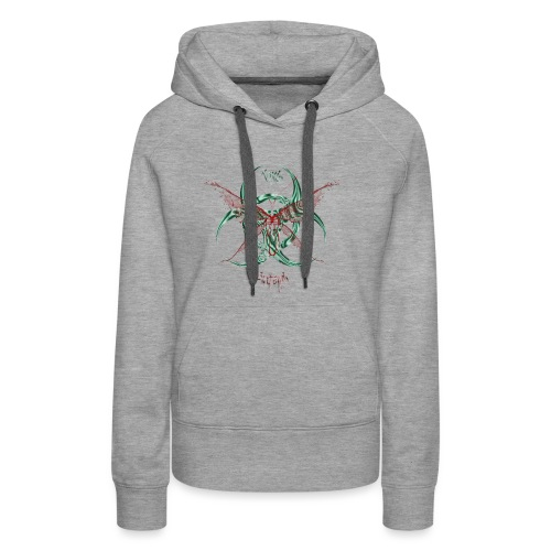 butterfly - Sweat-shirt à capuche Premium pour femmes