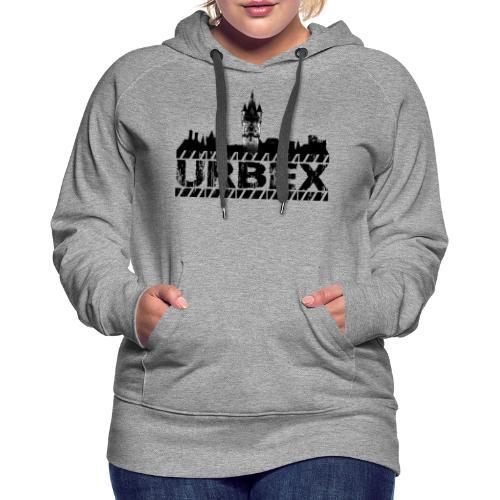 Urbex - Sweat-shirt à capuche Premium pour femmes