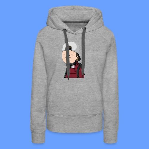 wankul cheshire - Sweat-shirt à capuche Premium pour femmes