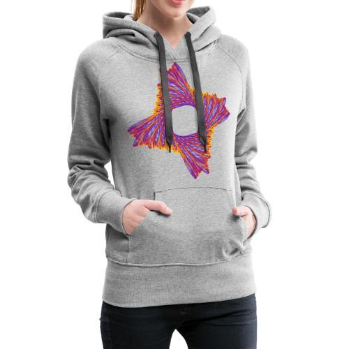 rotierendes Lebensfeuer 12162bry - Frauen Premium Hoodie
