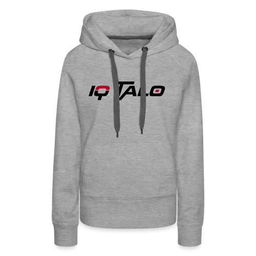 Logo_IQ_Talo_cmyk - Frauen Premium Hoodie