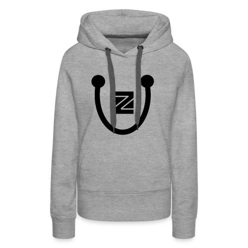 ZU logo - Women's Premium Hoodie
