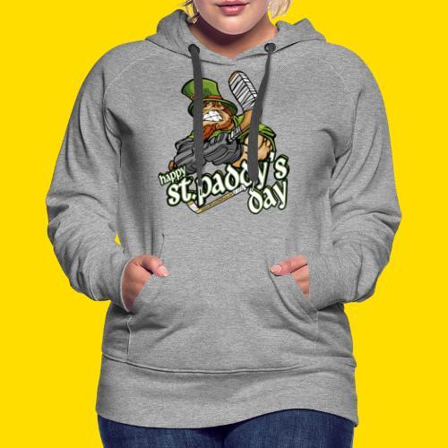 St Paddy´s Shirt Eishockey T-Shirt - Frauen Premium Hoodie