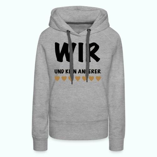 WIR - Frauen Premium Hoodie
