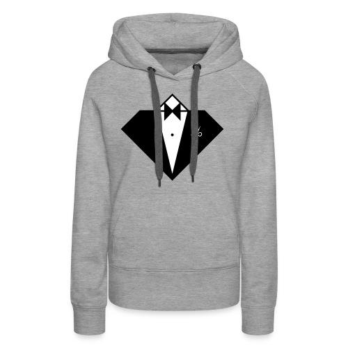 16992229-Buste Smoking CostarDiamant - Sweat-shirt à capuche Premium pour femmes