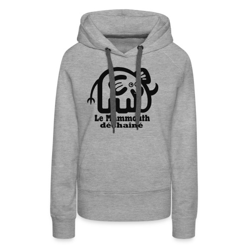logo - Sweat-shirt à capuche Premium pour femmes