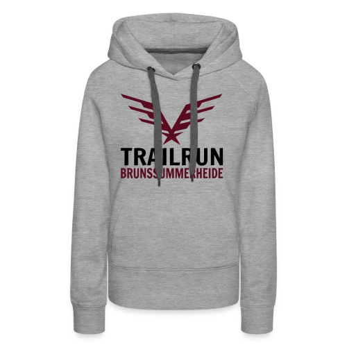 Vectorlogo Trailrun Bruns - Vrouwen Premium hoodie