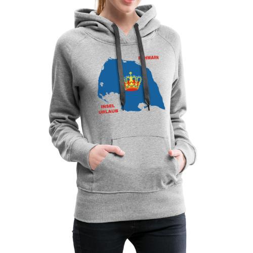 Fehmarn Insel Ostsee Urlaub - Frauen Premium Hoodie