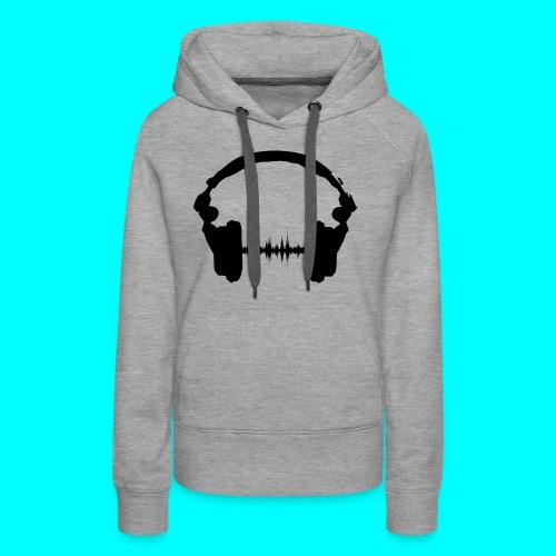 Kopfhörer - Frauen Premium Hoodie