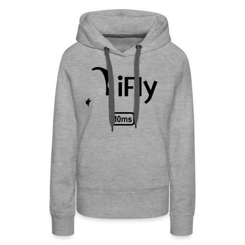 Paragliding iFly 10ms - Women's Premium Hoodie