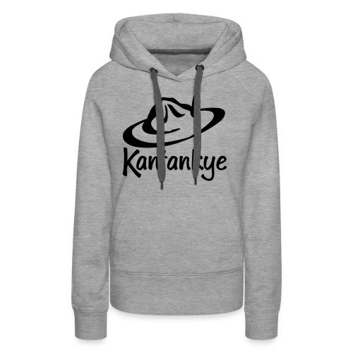 logo hoed naam - Vrouwen Premium hoodie