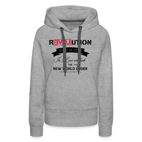 Revolution - Frauen Premium Hoodie