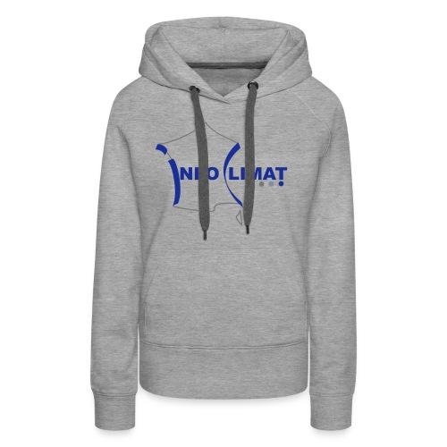 logo simplifié - Sweat-shirt à capuche Premium pour femmes