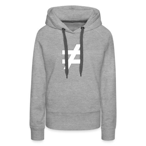 ≠ MOTIV - schwarzes Sweatshirt - Frauen Premium Hoodie