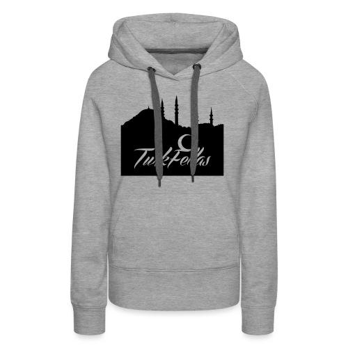 Turkfellas IST. skyline - Vrouwen Premium hoodie