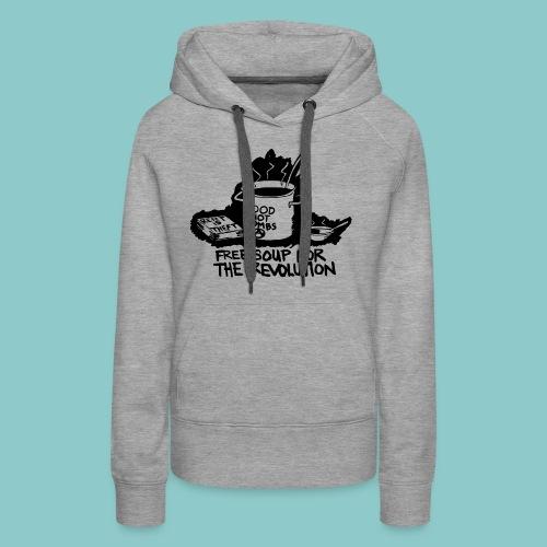 Wat een soepjurk! 2 - Vrouwen Premium hoodie