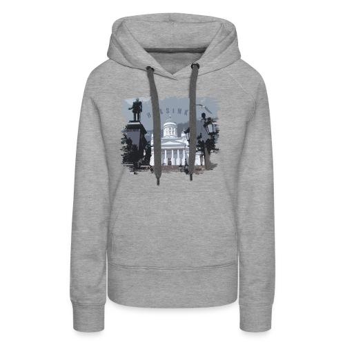 Helsinki tuomiokirkko T-paidat, hupparit, tuotteet - Naisten premium-huppari