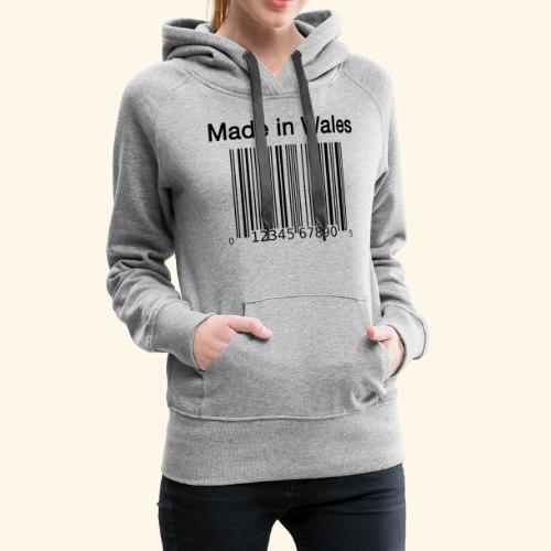 Made in Wales - Women's Premium Hoodie