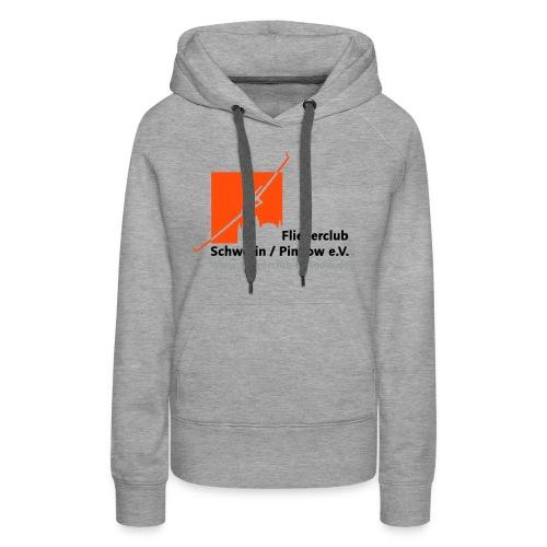 Logo Fliegerclub Schwerin Pinnow (web) - Frauen Premium Hoodie