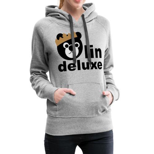 Bärlin Deluxe Motiv - Frauen Premium Hoodie