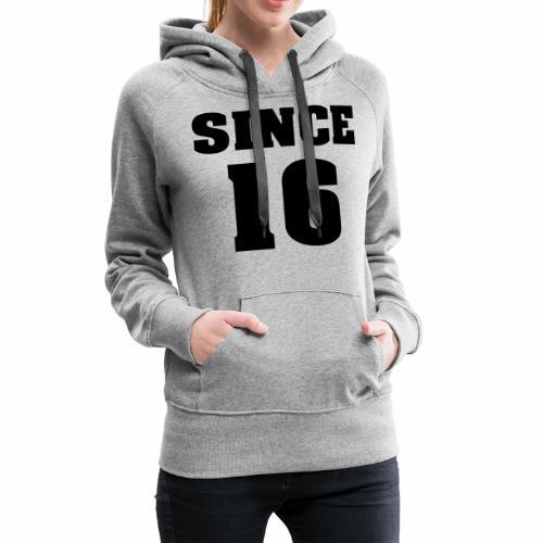 togehter since 16 - Frauen Premium Hoodie
