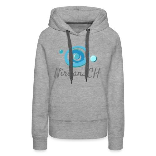 400dpiLogoCropped - Sweat-shirt à capuche Premium pour femmes