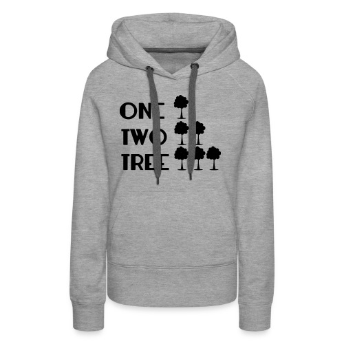 ONE-TWO-TREE-SF - Sudadera con capucha premium para mujer