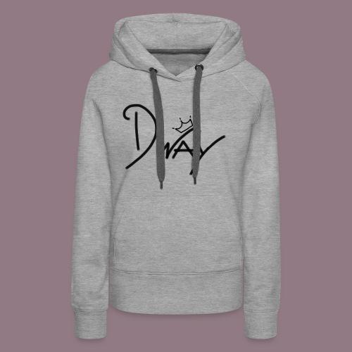 dway - Sweat-shirt à capuche Premium pour femmes