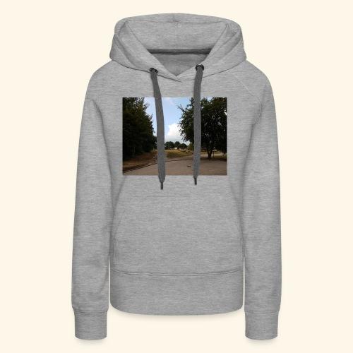 Landschaftsaufnahme - Frauen Premium Hoodie