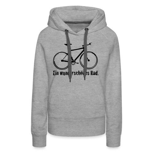 Mein Rad - Frauen Premium Hoodie