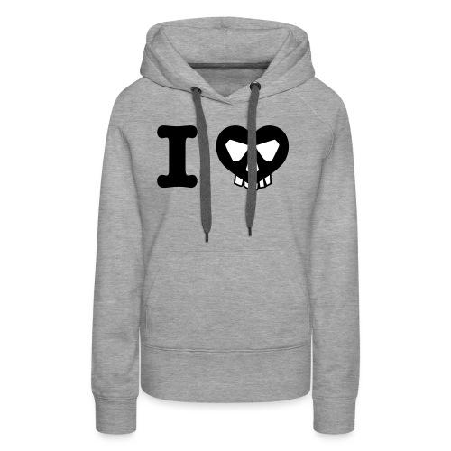 I Love... - Frauen Premium Hoodie
