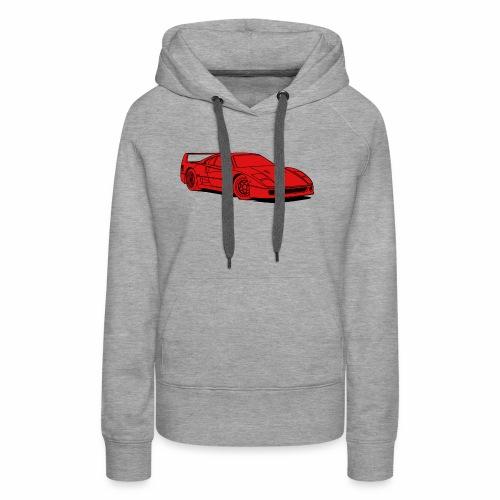 f40 red - Women's Premium Hoodie