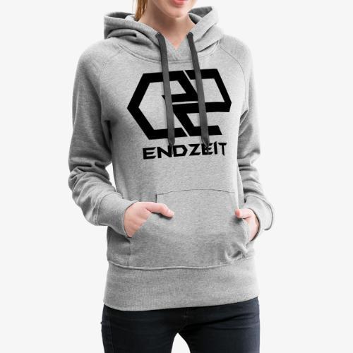 Endzeit Logo Black - Frauen Premium Hoodie