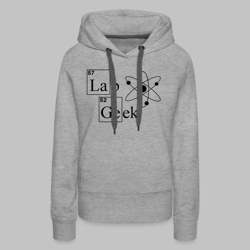 Lab Geek Atom - Women's Premium Hoodie