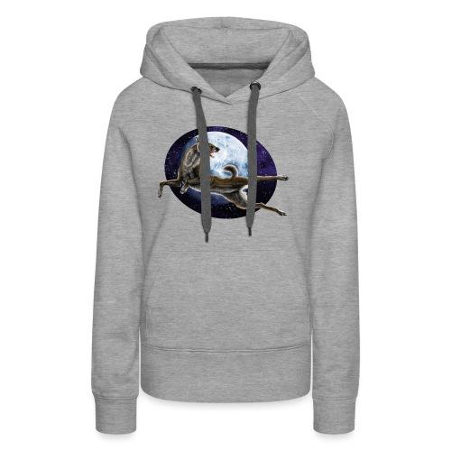 Galaxy Wolf - Frauen Premium Hoodie