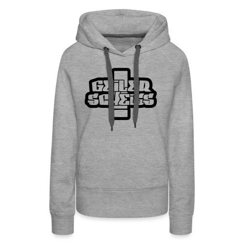 GELER SCHEISS T-Shirt - Frauen Premium Hoodie