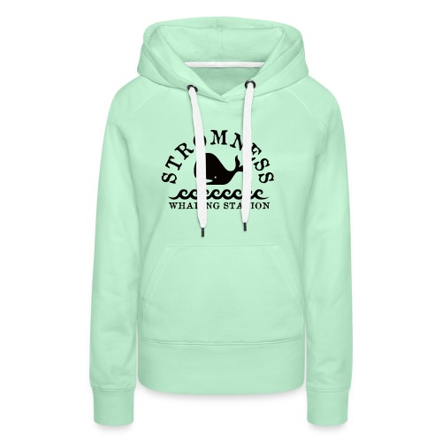 Sromness Whaling Station - Women's Premium Hoodie