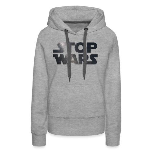 STOP WARS - Women's Premium Hoodie