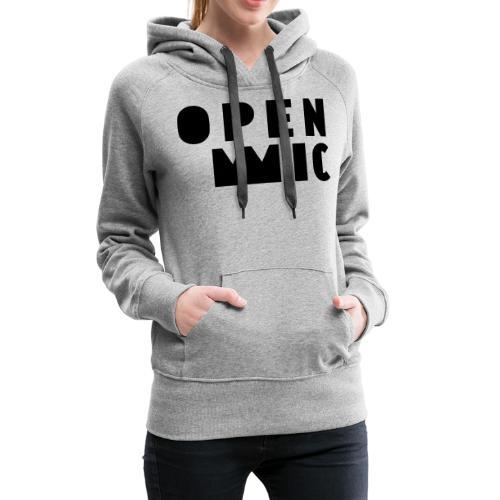 openMIC Huesca - Sudadera con capucha premium para mujer