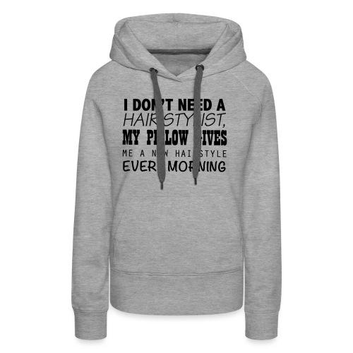 hairstylist - Vrouwen Premium hoodie